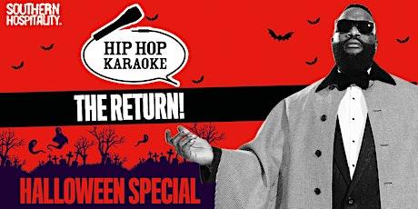 Hip Hop Karaoke - Halloween Week Special! tickets