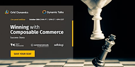 Winning with Composable Commerce: Success Story tickets