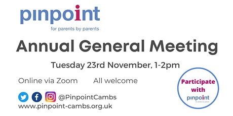 Pinpoint AGM tickets