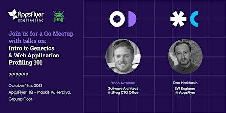 Go Meetup - Intro to Generics & Web Application Profiling 101 tickets