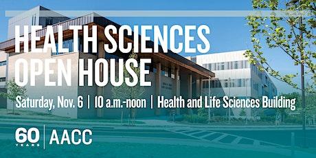 School of Health Sciences Open House tickets