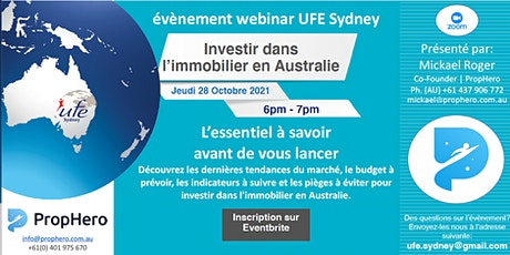 Investir dans l'immobilier en Australie tickets