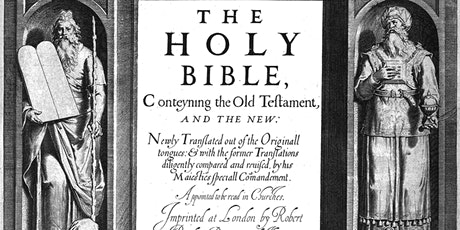 The World's Favourite Bible: The story of the  King James Version tickets