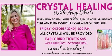 Crystal Healing tickets