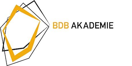 BDB Akademie WS 21/22 Tickets