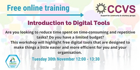 Introduction to Digital Tools tickets