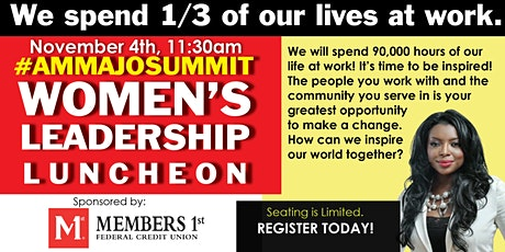 Living the Inspired Life - Women's Leadership Luncheon with AMMA JO tickets