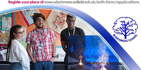 Winchmore Sixth Form Open Evening 2022 Entry tickets