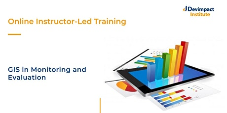 Training on GIS in Monitoring and Evaluation tickets