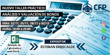 Análisis y Valuación de Bonos - Taller Práctico - 4 clases entradas
