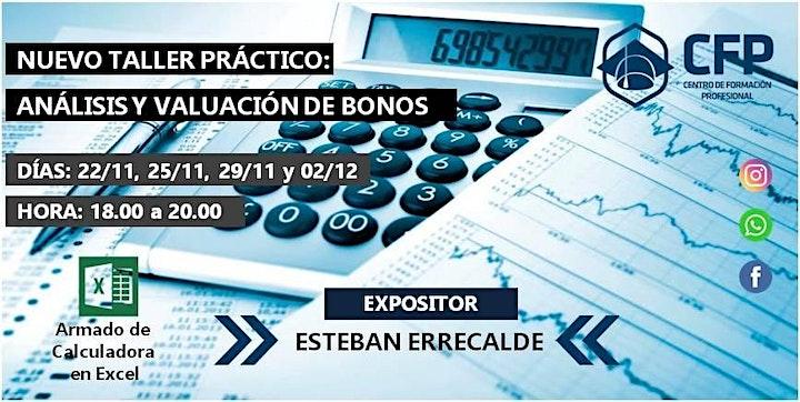 Imagen de Análisis y Valuación de Bonos - Taller Práctico - 4 clases