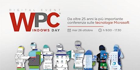 WPC DAY 3 - Windows Day biglietti