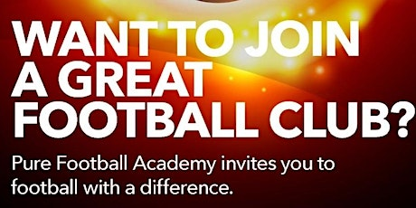 Pure Football Academy Football Sessions tickets