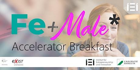 Fe+Male* Accelerator Breakfast im Oktober 2021 Tickets