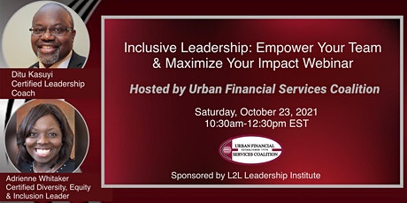 Inclusive Leadership: Empower Your Team & Maximize Your Impact tickets