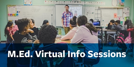 M.Ed. Virtual Information Session tickets
