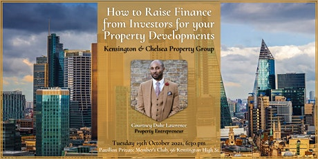 How to Raise Finance from Investors for your Property Developments tickets