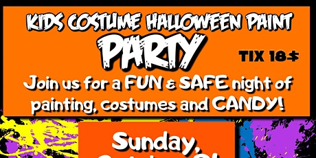 Kids Halloween Costume Paint Party tickets
