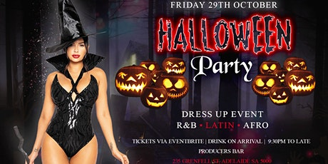 HALLOWEEN PARTY ADELAIDE tickets