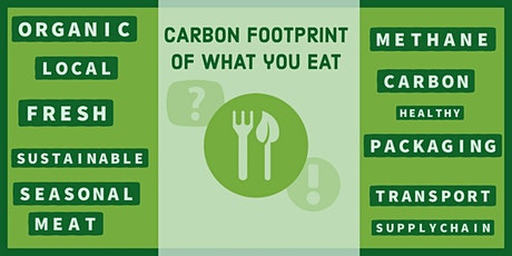 The carbon footprint of what  you eat tickets