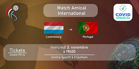 Luxembourg - Portugal billets