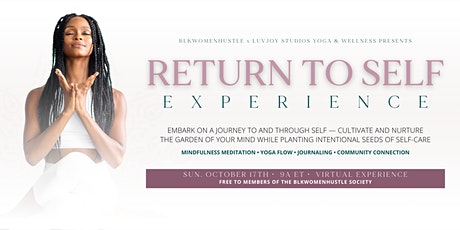 Return to Self Experience tickets