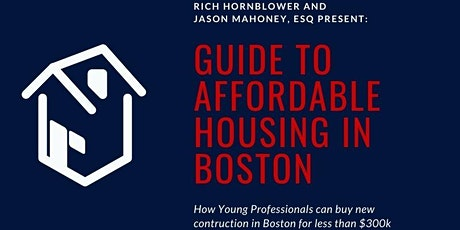 Guide to Affordable Housing in Boston tickets