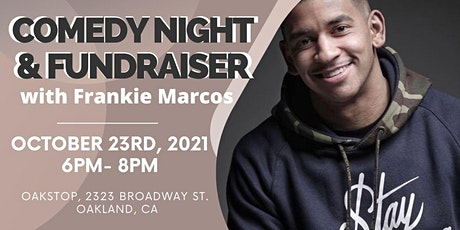 Comedy Night & Fundraiser with Frankie Marcos! tickets