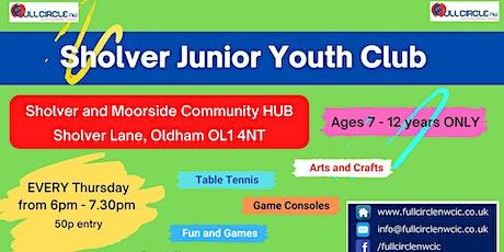 Junior Youth Club tickets
