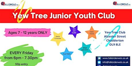 Yew Tree Junior Youth Club tickets
