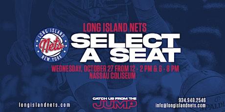 Long Island Nets Select-A-Seat tickets