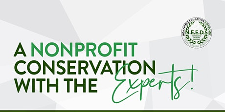 A NONPROFIT CONVERSATION WITH THE EXPERTS tickets