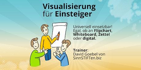 Visualisierung am Flipchart, Whiteboard & Co (Einsteiger) tickets
