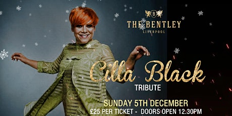 Festive Afternoon Tea with Cilla tickets