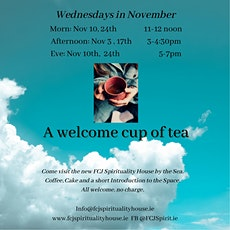A Welcome Cup of Tea! tickets