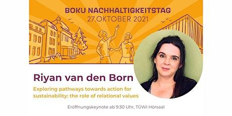 BOKU Nachhaltigkeitstag: Eröffnung & Keynote mit Dr. Riyan van den Born Tickets