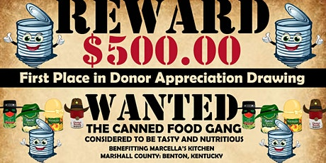 2nd Annual Can the Curb. Community Food Drive & Raffle. Marshall County, KY tickets