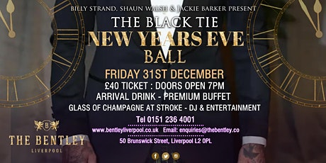 New Years Eve Ball tickets