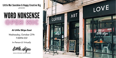Word Nonsense: Open Mic & Poetry Reading tickets