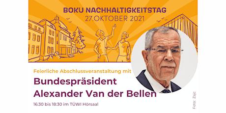 BOKU Nachhaltigkeitstag: Feierliche Abschlussveranstaltung Tickets