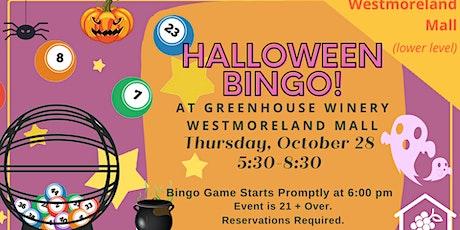 Halloween Bingo at the mall! tickets