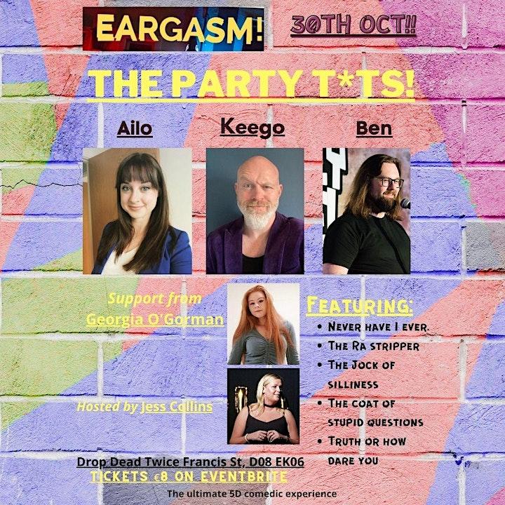 Eargasm - A weekend of Irelands best comedy! image