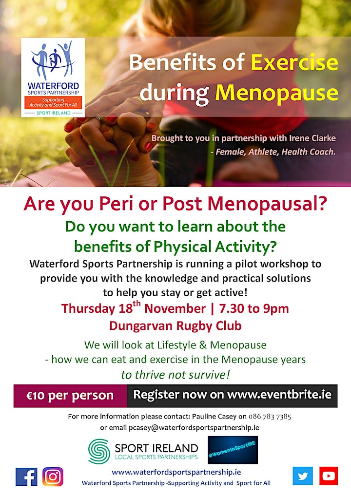 Benefits of Exercise During Menopause image
