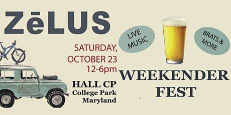 WEEKENDER FEST at Hall CP College Park with Live Music, Brats & More tickets