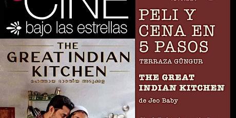 CINE BAJO LAS ESTRELLAS - Película más cena al aire libre - entradas
