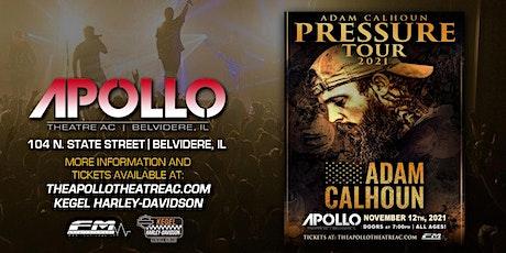 Adam Calhoun tickets