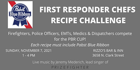 Pabst Blue Ribbon First Responder Chefs Recipe Challenge tickets