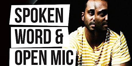 Spoken Word & Open Mic Night tickets