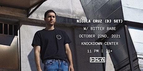 PopGun Presents... Nicola Cruz (DJ Set) w/ Bitter Babe tickets