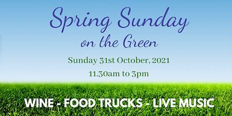 Spring Sunday on the Green at Nikola Estate tickets